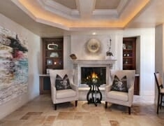 newport coast family room